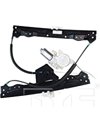 TYC 660482 Front Left Replacement Window Regulator and Motor Assembly