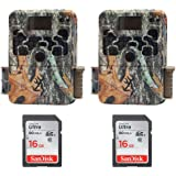 (2) Browning Strike Force 850 Extreme Trail Game Camera (16MP) with 16GB Memory Card | BTC5HDX