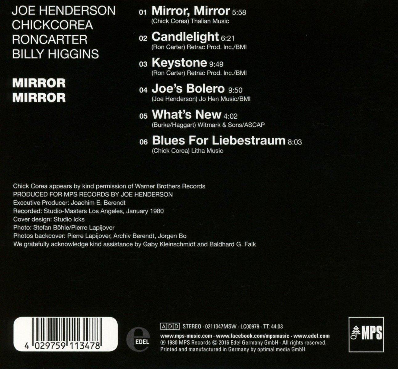 Mirror, Mirror: Joe Henderson: Amazon.es: Música