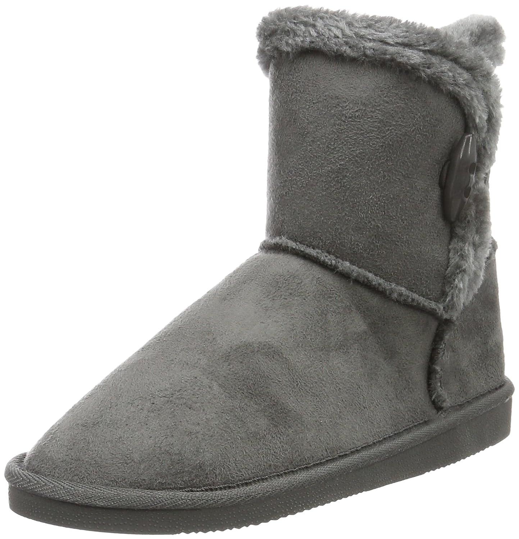 Canadians Boots, (250 Bottes Courtes 12255 avec Boots, Doublure Chaude Femme Gris - Grau (250 Dk. Grey) 7b19418 - reprogrammed.space