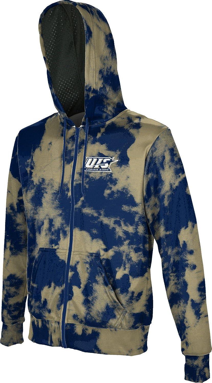 Grunge ProSphere University of Illinois Springfield Boys Full Zip Hoodie