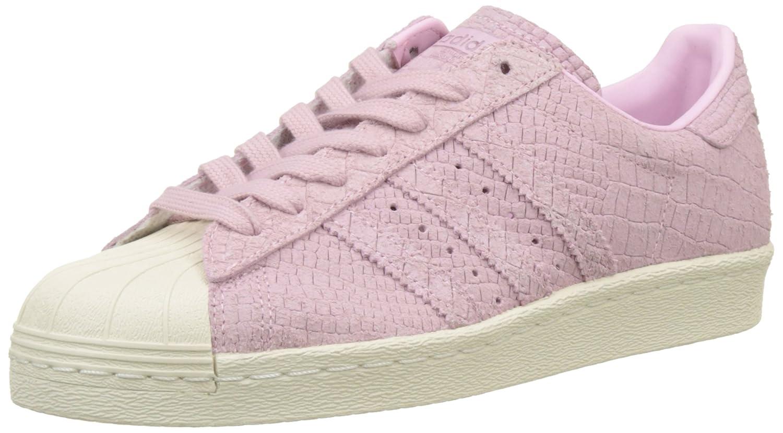 Adidas Superstar 80s, Zapatillas Altas para Mujer 39 1/3 EU|Rosa (Wonder Pink/Wonder Pink/Off White)