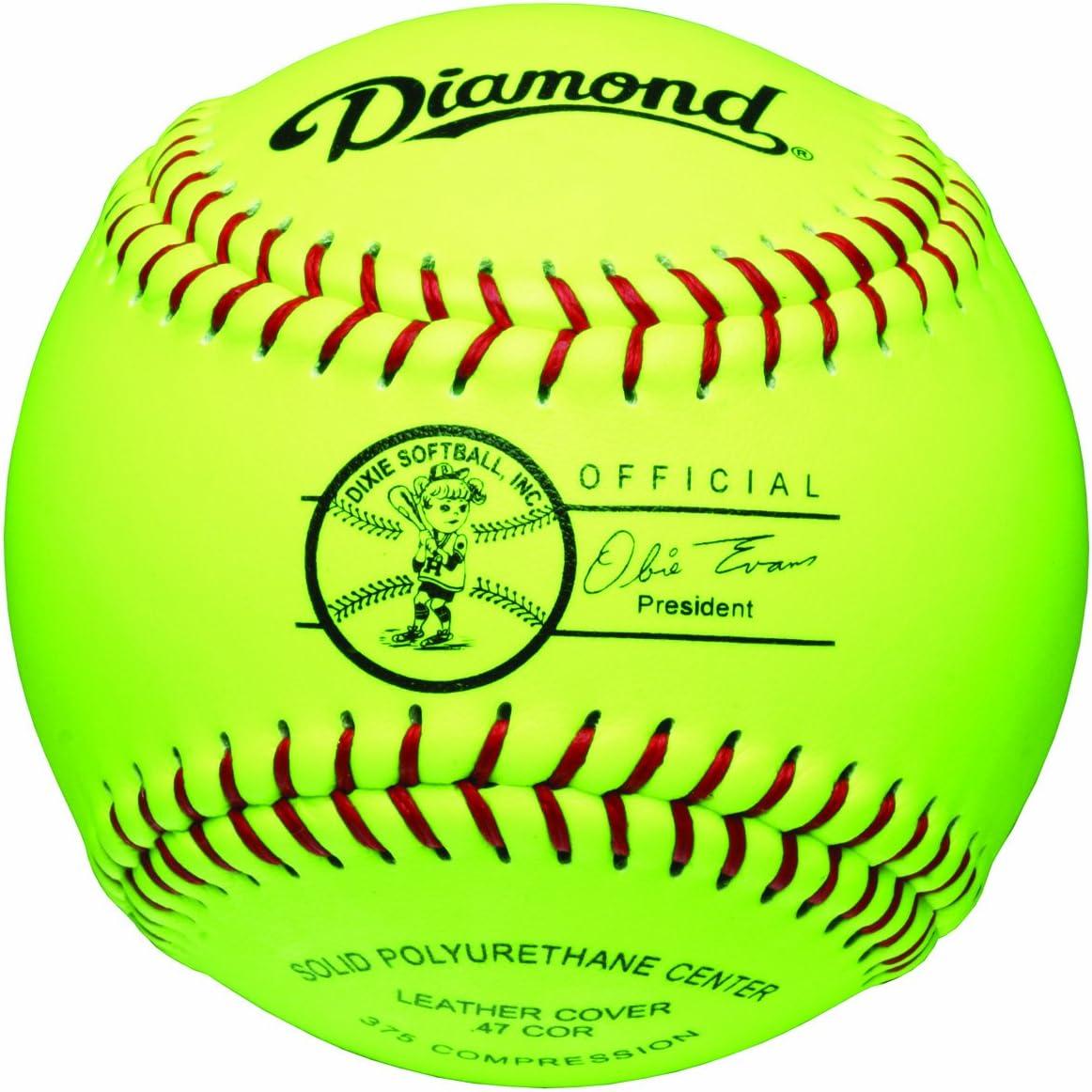 Diamond Sports ユーススーパー合成ソフトボール 11インチ 12個パック
