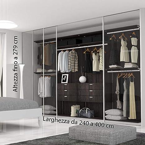 Hochwertiger Kleiderschrank Von 2 40 Bis 3 M Breite Maximale Hohe 2 79 M Amazon De Kuche Haushalt