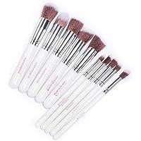 Pincel Pinceis Kabuki Precisão Kit com 10 Pinceis de Maquiagem