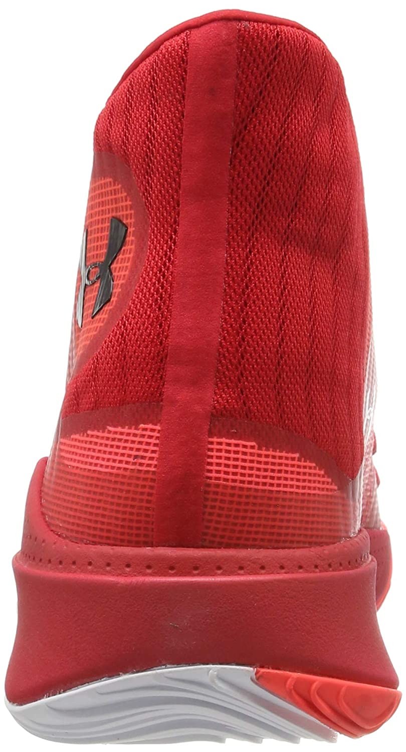Under Armour Mens Spawn Mid Basketball Shoes