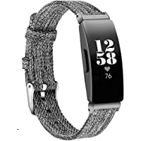 KIMILAR Compatibel met Fitbit Inspire/Inspire HR/Ace 2 / Inspire 2 Strap voor dames en heren, vervangende zachte stoffen…
