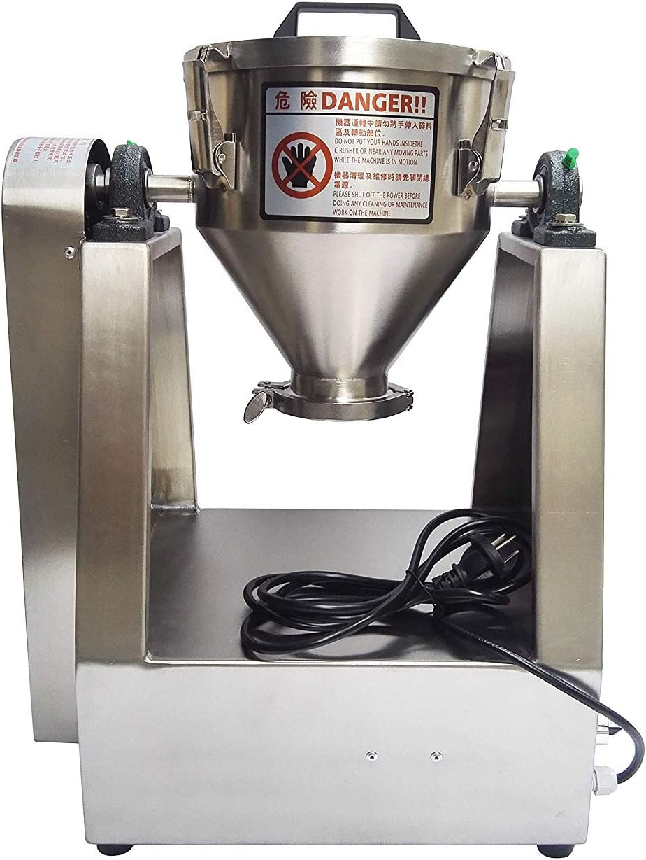 MXBAOHENG YG-2KG - Mezclador de Polvo de Laboratorio (220 V/110 V ...