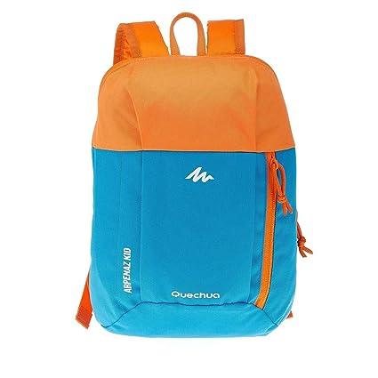 QUECHUA - Mochila naranja azul