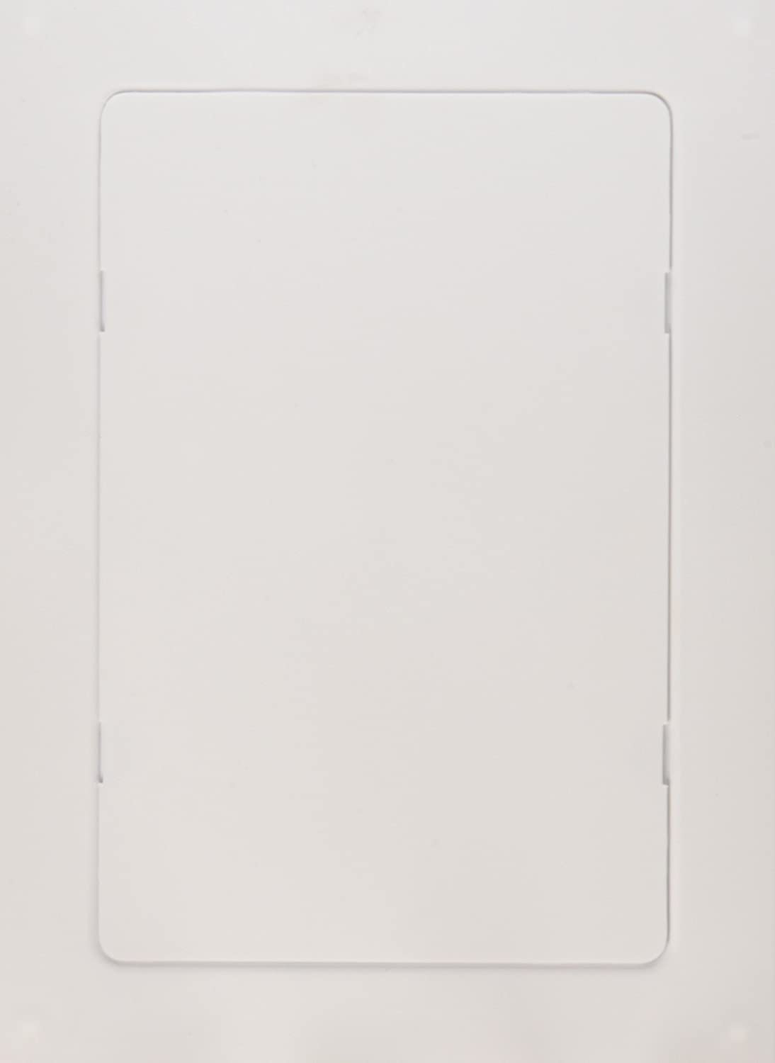 PlumBest A04006 Snap Ease Access Panel, White, 6-Inch by 9-Inch