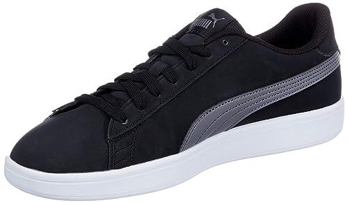 983997a8eb00fe Puma, Uomo, Smash V2 Buck, Pelle, Sneakers, Nero, 41 EU: Amazon.it ...