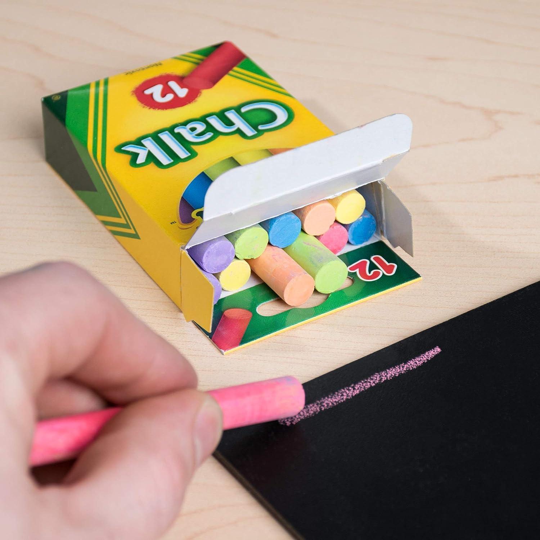 Amazon.com: Crayola varillas de tiza, 12 unidades paquete de ...