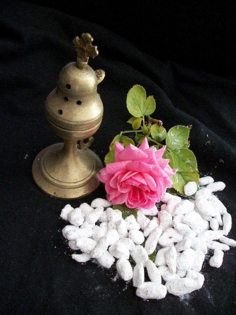 Greek Rose Incenseプレミアム品質教会Frankincense B0711LW6ZJ