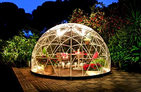 Garden Igloo 360 Dome with PVC Weatherproof Cover Amazon.co