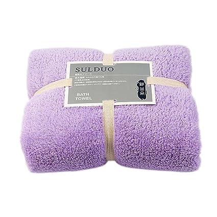 Binmer (TM) suave algodón toalla de toallas de cara toalla de flores de bambú