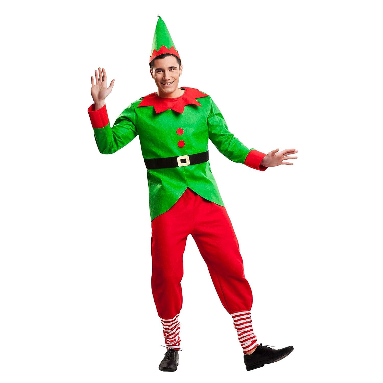 My Other Me Disfraz de Elfo Navidad para Hombre: Amazon.es ...