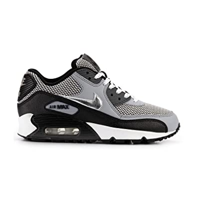 a74153d5ce Nike Air Max 90 LE Grey Black Kids Trainers Size 12 UK: Amazon.co.uk: Shoes  & Bags