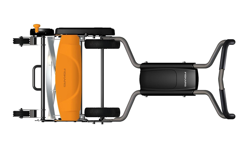 Fiskars 6201 18-Inch StaySharp Max Push Reel Lawn Mower Review