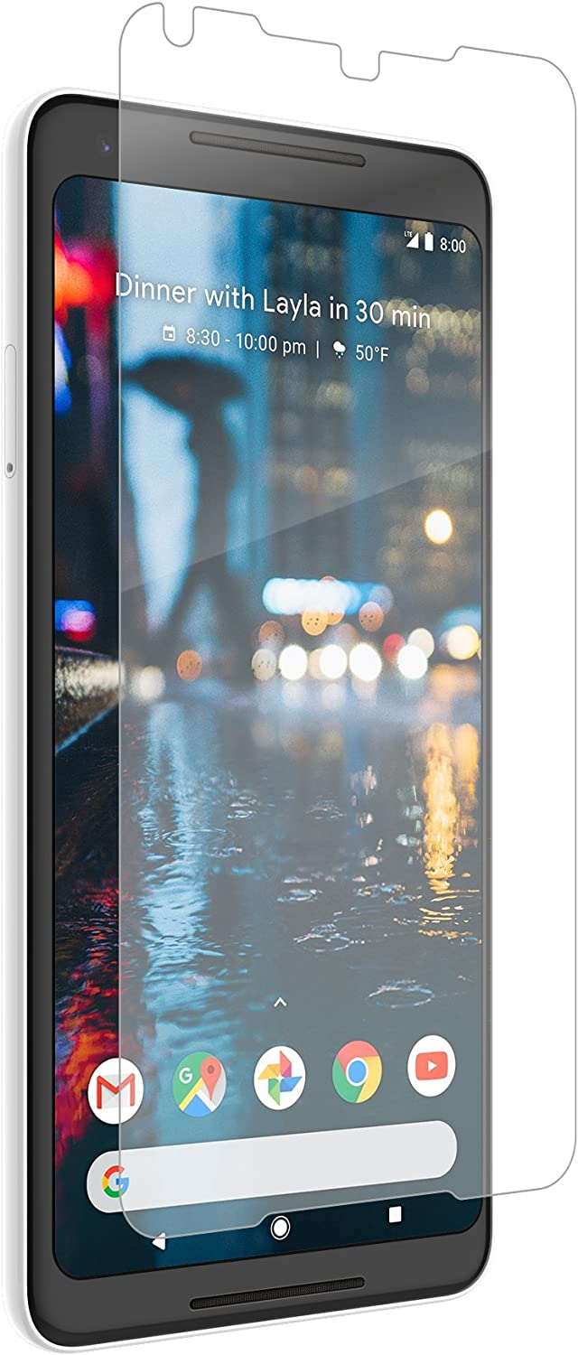Zagg -Invisible Shield HD Wet Film Screen Protector -Google 2 XL -Advanced Clarity -Reduced Scratch Protection - Clear