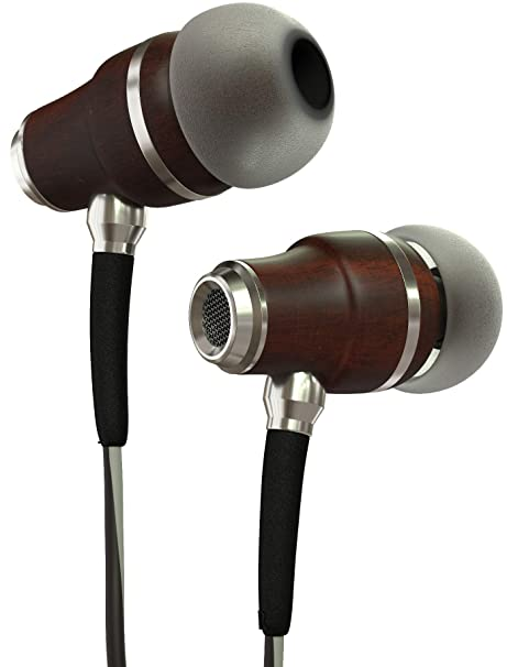 53a2702684df5c Symphonized NRG 3.0 Earbuds Headphones, Wood In-ear Noise-isolating  Earphones, Balanced