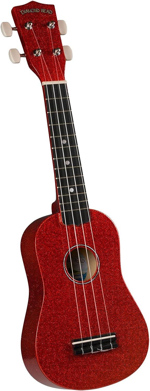 Other, 4-String Ukulele, Candy Apple Red, Soprano (DU-142)