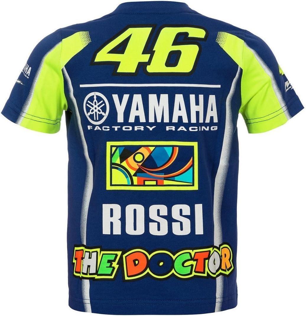 T-shirt enfant junior Yamaha M1/VR46/Valentino Rossi TG 9//10