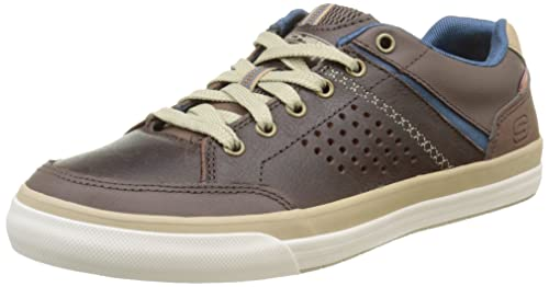 Skechers Diamondback-Rendol - Zapatillas, Hombre, Marrón, 40: Amazon.es: Zapatos y complementos