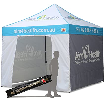 abccanopy deluxe pop up tents with logo 10x10 promotional tents custom pop up tents with enclosure - Custom Pop Up Tents