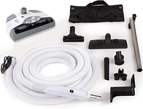 Amazon.com - GV Central Vacuum kit with Power Head 35 Foot Hose and Tools  Designed to fit Beam Electrolux Nutone Hayden fits All Brands White Head - | Beam Electrolux Wiring Diagram |  | Amazon.com