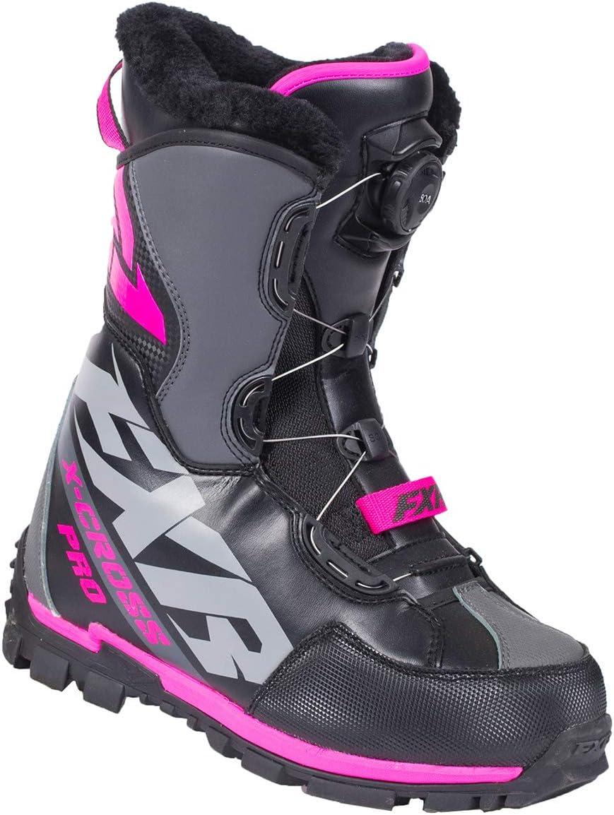Black//Orange - Mens 13 // EU47 FXR X-Cross Pro BOA Boot