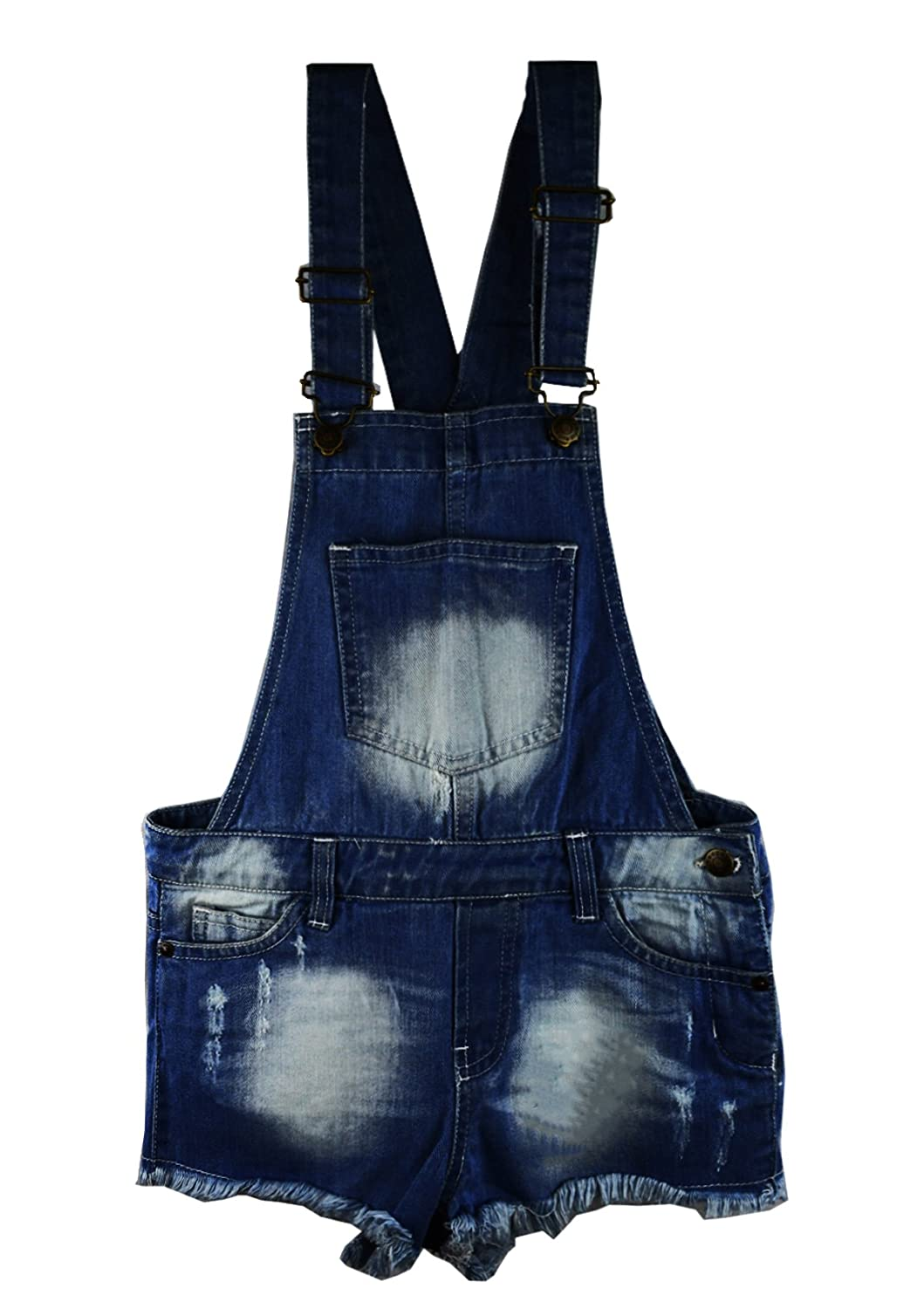 Vanilla Inc New Kids Girls Boys Childrens Denim Stretch Light Wash Dungarees Playsuit Pinafore Age 7-13 United kingdom