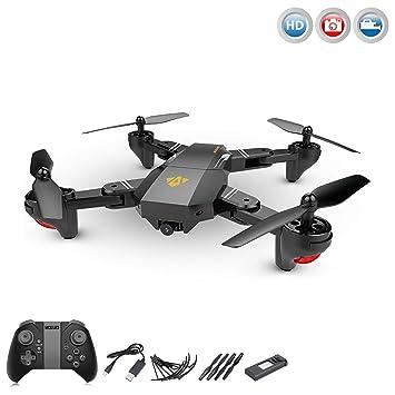 Cuadricóptero de 4.5 canales teledirigido con cámara HD, dron ...