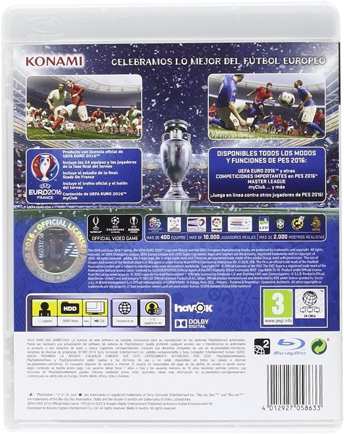 Pro Evolution Soccer 2016 (PES 2016) - Day One Edition: Konami ...