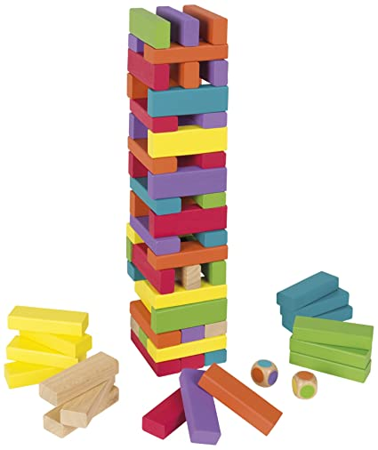 Amazon.com: Janod Equilibloc Color: Toys & Games