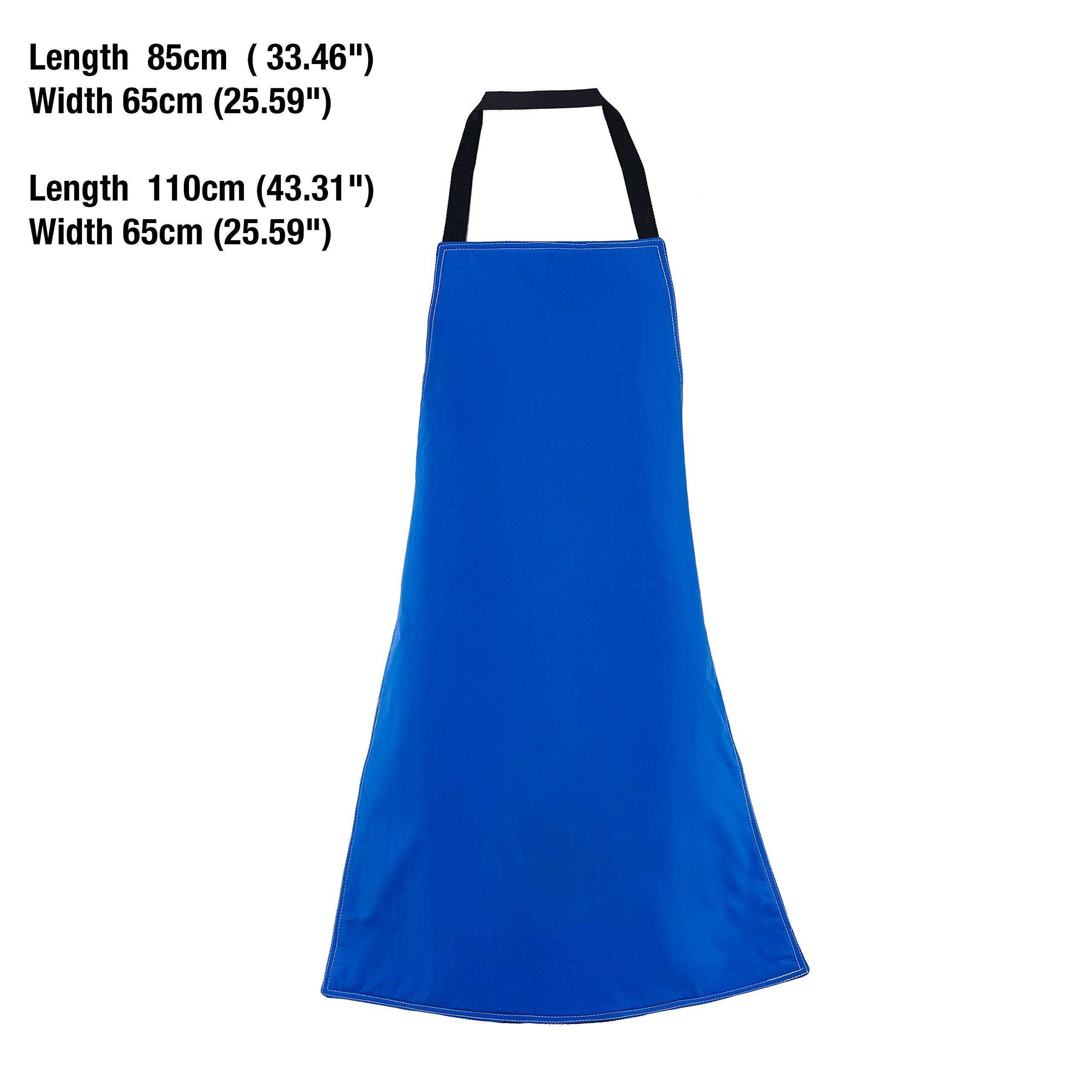Holulo Safety Cryo-Apron Cryogenic Apron Nitrogen Working Suit 33'' Length x 26'' (L) by Holulo (Image #2)