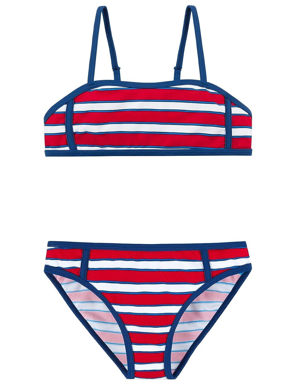 Schiesser Bustier-Bikini, Set Costume da Bagno Bambina