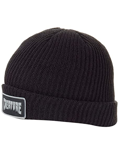 de87a807794 Creature Men s Patch Long Shoreman Beanie Hats