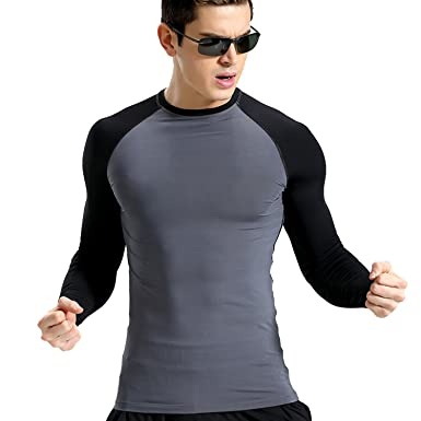 bb1dff2d70 Zesteez Men Gym Tshirt Full Sleeves Stretchable Fabric||  Gymwear||Activewear
