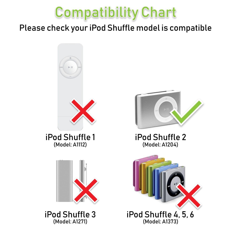 Amazon.com: limtech? Cargador de pared + Apple iPod Shuffle ...