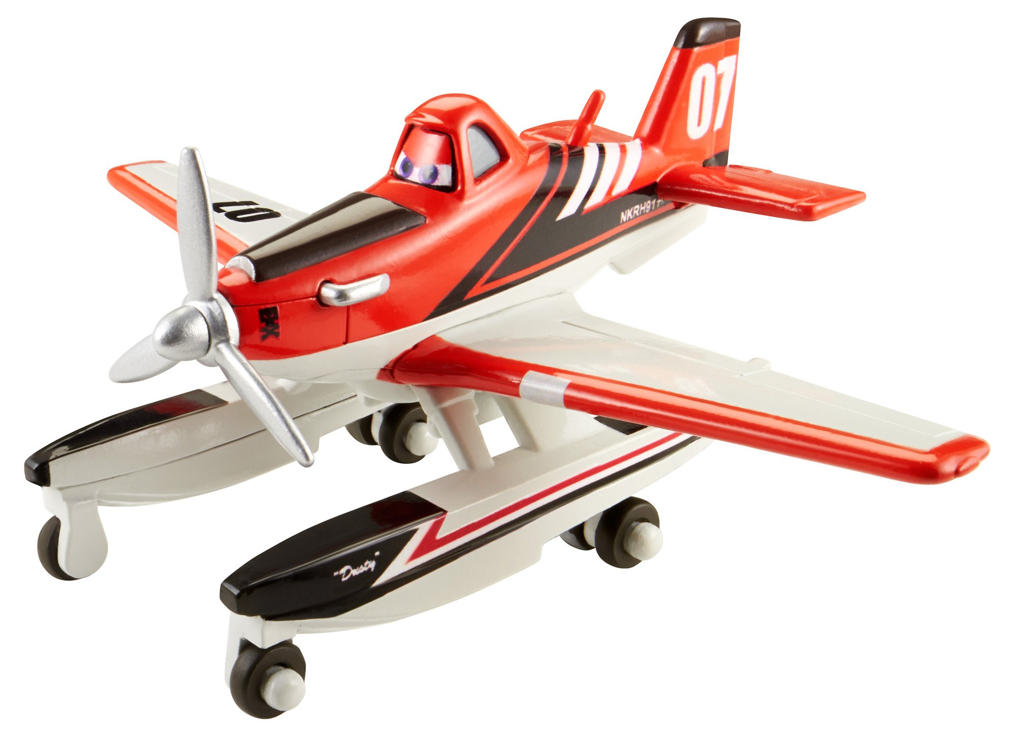 Disney Planes Fire and Rescue Dusty with Pontoons Die-cast Vehicle
