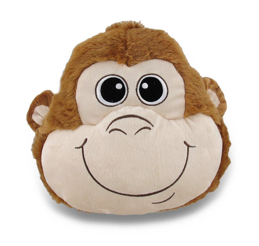 One Monkey Theme Plush Throw Pillow - 11''