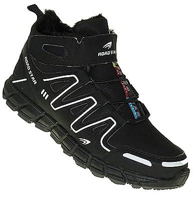 Art 667 Winterstiefel Outdoor Boots Stiefel Winterschuhe Herrenstiefel Herren, Schuhgröße:48
