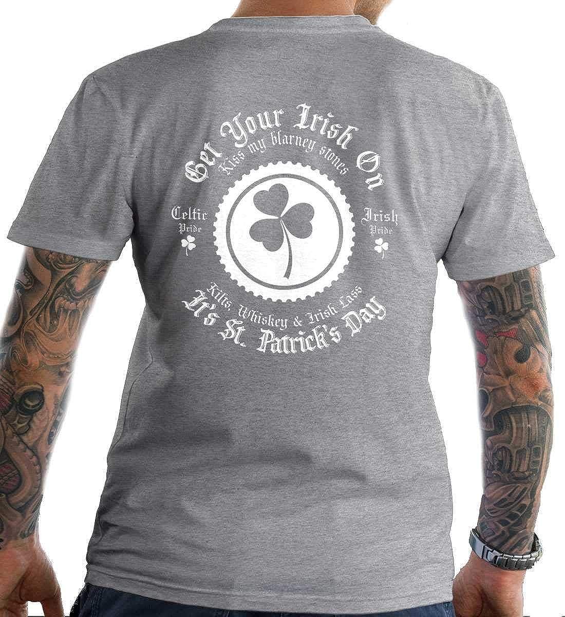 Its St Irish T-Shirt Patricks Day Made in USA T-Shirt. Get Your Irish On