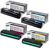 Samsung SL-C1860FW Standard Yield Toner Set BK 2500/Color 1800 Pages