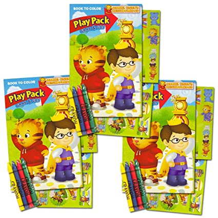 Amazon Com Daniel Tiger Ultimate Party Favors Packs 3 Sets With