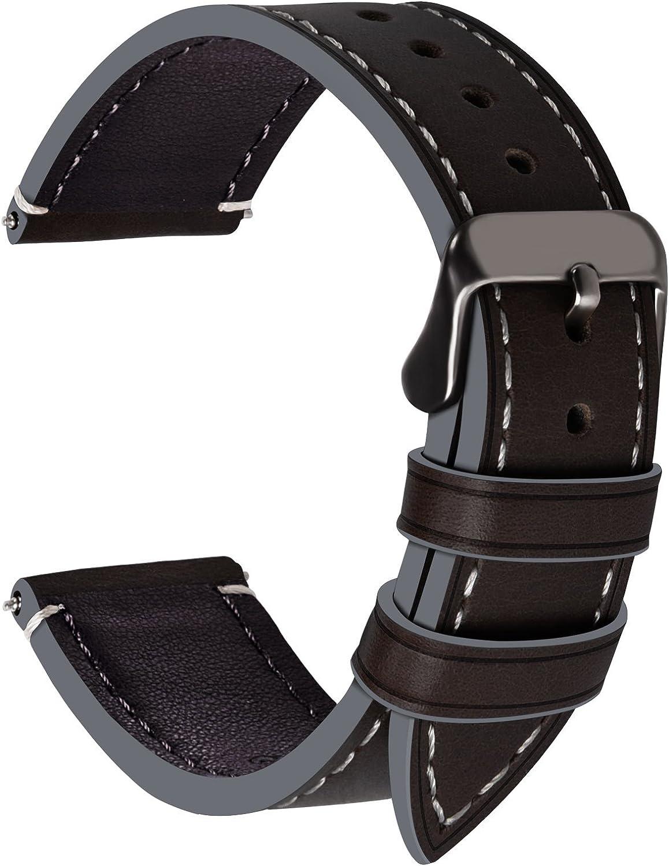 Fullmosa Wax Correa Reloj Piel,6 Colores para Correa Huawei ...