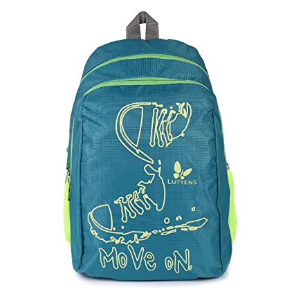 b45a0b3df8bc Lutyens Polyester Green Lime School Bags (17 Liters) (Lutyens 197)  Amazon. in  Bags