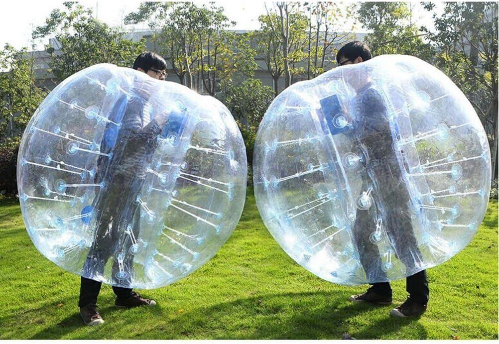 Stagersoccer® Pelota Hinchable de Parachoques Bubbler balón de fútbol para Las escuelas Partes Empresa de Alquiler de Actividades 1 por Caja (Transparente, 1,7 m): Amazon.es: Deportes y aire libre