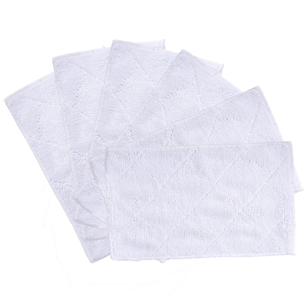 KEEPOW 6 Pack Cleaning Mop Pads for Light 'n' Easy S3101, S7326, S3601 Floor Steam Cleaner