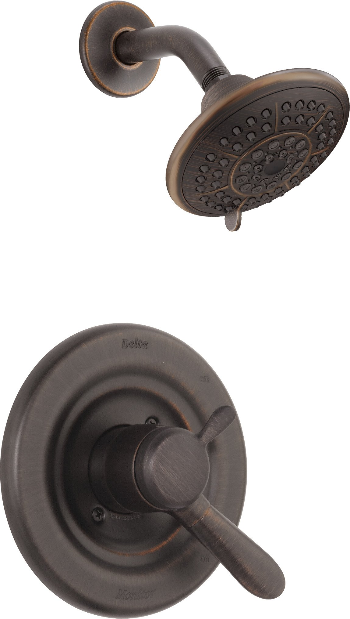 Delta Faucet T17238-RB Lahara Monitor 17 Series Shower Trim, Venetian Bronze by DELTA FAUCET